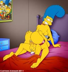 #pic661013: Artie Ziff – Marge Simpson – The Simpsons – cartoon avenger