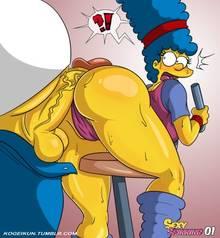 #pic1217533: Homer Simpson – Marge Simpson – The Simpsons – kogeikun