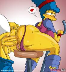 #pic1217534: Homer Simpson – Marge Simpson – The Simpsons – kogeikun