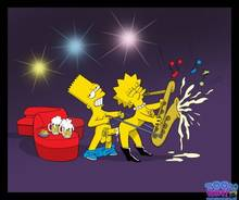 #pic655845: Bart Simpson – Lisa Simpson – The Simpsons – Toon-Party