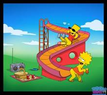 #pic655846: Bart Simpson – Lisa Simpson – The Simpsons – Toon-Party