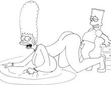 #pic626674: Bart Simpson – LucaFire – Marge Simpson – The Simpsons