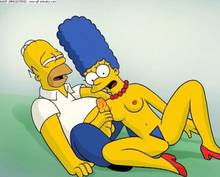 #pic626729: Homer Simpson – Marge Simpson – The Simpsons – animated