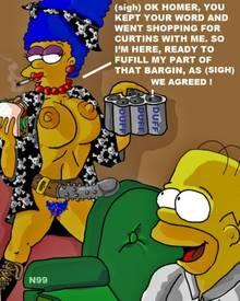 #pic626921: Homer Simpson – Marge Simpson – The Simpsons – necron99