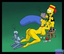 #pic645930: Bart Simpson – Marge Simpson – The Simpsons – Toon-Party