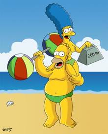 #pic645849: Homer Simpson – Marge Simpson – The Simpsons – WVS