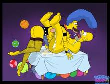 #pic645931: Homer Simspon – Marge Simpson – The Simpsons – Toon-Party