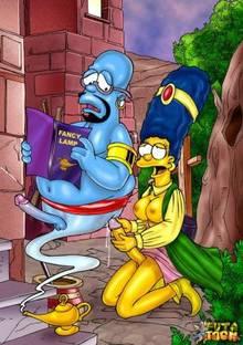 #pic644184: Homer Simpson – Marge Simpson – The Simpsons – futa-toon
