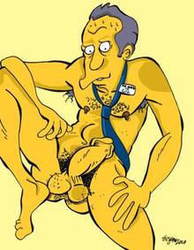 #pic643963: Chief Wiggum – Julius Hibbert – Moe Szyslak – The Simpsons – Victor Hodge
