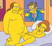 #pic636541: Comic Book Guy – Edna Krabappel – Seymour Skinner – The Simpsons
