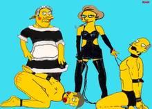#pic635944: Comic Book Guy – Edna Krabappel – Seymour Skinner – Superintendent Chalmers – The Simpsons
