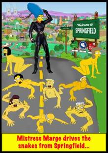 #pic636832: Artie Ziff – Cookie Kwan – Helen Lovejoy – Kent Brockman – Marge Simpson – Montgomery Burns – Rainier Wolfcastle – Snake Jailbird – The Simpsons – lyle lynley