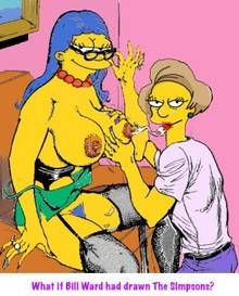#pic630875: Edna Krabappel – Marge Simpson – The Simpsons