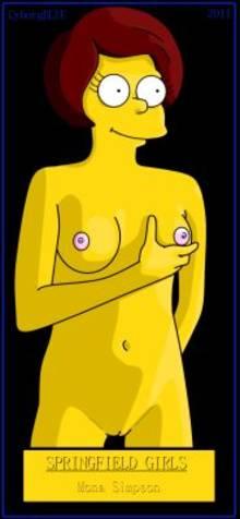#pic631415: CyborgBLUE – Mona Simpson – The Simpsons