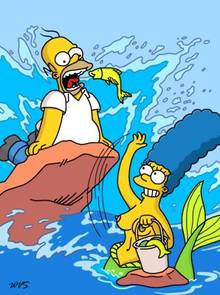 #pic630465: Homer Simpson – Marge Simpson – The Simpsons – WVS