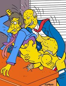 #pic520695: Seymour Skinner – Superintendent Chalmers – The Simpsons – Victor Hodge