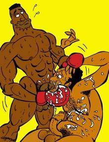 #pic520701: Carl Carlson – Dredrick Tatum – The Simpsons – Victor Hodge