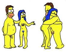 #pic518097: Homer Simpson – Lakitu (artist) – Marge Simpson – The Simpsons