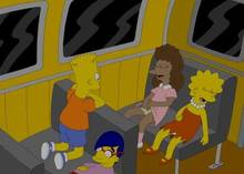 #pic515054: Bart Simpson – Janey Powell – Lisa Simpson – Milhouse Van Houten – The Simpsons – mike4illyana