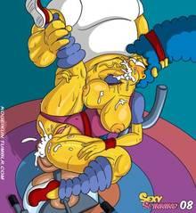 #pic1246429: Homer Simpson – Marge Simpson – The Simpsons – kogeikun
