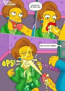 #pic506723: Edna Krabappel – Modern Toons – Seymour Skinner – The Simpsons