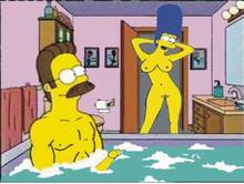 #pic506292: Marge Simpson – Ned Flanders – The Simpsons