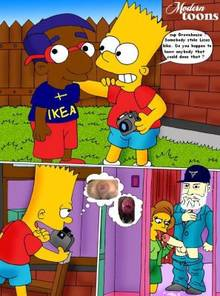 #pic505996: Bart Simpson – Edna Krabappel – Epic Beard Man – Milhouse Van Houten – Modern Toons – Outhouse – The Simpsons – Thomas Bruso – meme