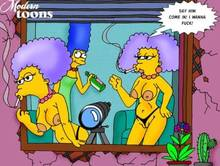 #pic505986: Marge Simpson – Modern Toons – Patty Bouvier – Selma Bouvier – The Simpsons