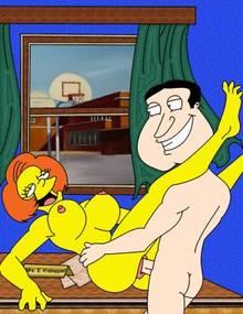 #pic503620: Edna Krabappel – Family Guy – Glenn Quagmire – The Simpsons – crossover