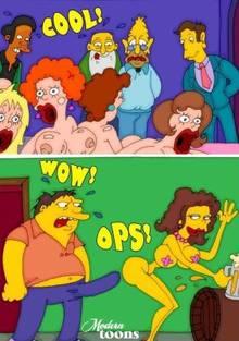 #pic503010: Abraham Simpson – Apu Nahasapeemapetilon – Barney Gumble – Jasper Beardly – Modern Toons – Seymour Skinner – The Simpsons
