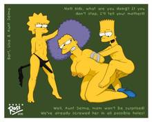#pic502558: Bart Simpson – Lisa Simpson – Selma Bouvier – The Simpsons – ross