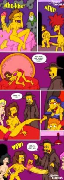 #pic499993: Bart Simpson – Edna Krabappel – Jasper Beardly – Milhouse Van Houten – Modern Toons – Seymour Skinner – Sideshow Bob – The Simpsons – Todd Flanders