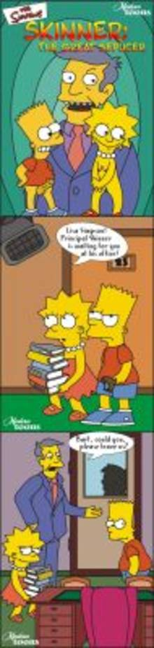 #pic499786: Bart Simpson – Lisa Simpson – Modern Toons – Seymour Skinner – The Simpsons