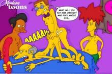 #pic499037: Apu Nahasapeemapetilon – Modern Toons – Montgomery Burns – Sideshow Bob – The Simpsons – Waylon Smithers