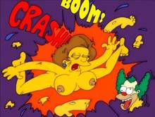 #pic499036: Edna Krabappel – Krusty The Clown – Modern Toons – The Simpsons