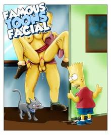 #pic476370: Bart Simpson – Homer Simpson – Snowball – The Simpsons – famous-toons-facial
