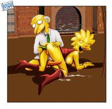 #pic469531: Lisa Simpson – Montgomery Burns – The Simpsons – famous-toons-facial