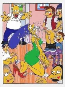 #pic469476: Dolph Starbeam – Homer Simpson – Jimbo Jones – Kearney Zzyzwicz – Marge Simpson – Martin Prince – Milhouse Van Houten – Nelson Muntz – Ralph Wiggum – The Simpsons – necronocimon
