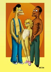 #pic466200: Carl Carlson – Lenny Leonard – Lisa Simpson – The Simpsons