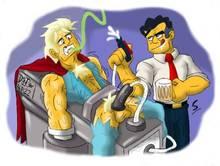 #pic1184418: Duffman – Howard K Duff – The Simpsons – slashweilerdog