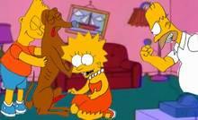 #pic1174744: Homer Simpson – Lisa Simpson – Santa's Little Helper – The Simpsons – dogknot