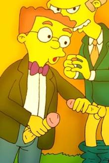 #pic120394: Montgomery Burns – The Simpsons – Waylon Smithers