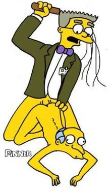 #pic116227: Montgomery Burns – Pinner – The Simpsons – Waylon Smithers