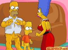 #pic116200: Bart Simpson – Homer Simpson – Marge Simpson – The Simpsons – comics-toons