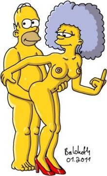 #pic1156852: Homer Simpson – Selma Bouvier – The Simpsons