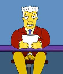 #pic1121830: Kent Brockman – The Simpsons – redpearl