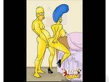 #pic1116339: Homer Simpson – Marge Simpson – The Simpsons – animated