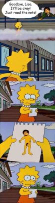 #pic799179: Lisa Simpson – Mr. Bergstrom – The Simpsons