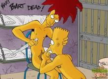 #pic1237030: Bart Simpson – Sideshow Bob – The Simpsons