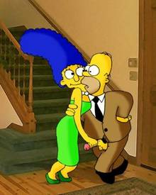 #pic592641: Homer Simpson – Marge Simpson – The Simpsons